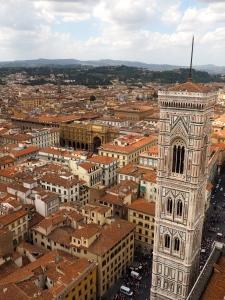Centre de Florence, vue du dôme de l'Eglise.